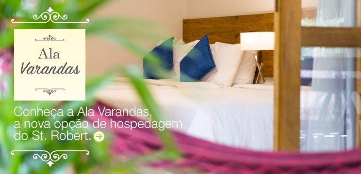 Conheça a Ala Varandas, a nova opção de hospedagem do St. Robert.