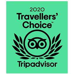 Prêmio Travellers' Choice™ 2020 Tripadvisor